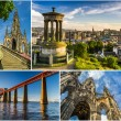 Stock Photo: Postcard from sunny Edinburgh