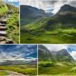 Postcard from the mountains of Scotland — Stock Photo #18559837