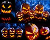Postkarte für das fest der halloween nr. 1 — Stockfoto