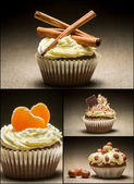 Collage of different types of muffins no. 6 — Stock Photo