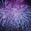 Spectacular fireworks during celebrations — Stock Photo #19030427