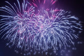 Spectacular fireworks during the celebrations — Stock Photo