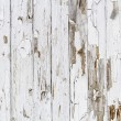 Stock Photo: Old white weathered wooden background no. 6