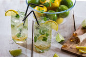 Closeup of citrus drink for summer — Stock Photo