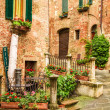 Stock Photo: Vintage buildings in Italy