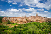 View of the Pitigliano, Italy — Stock Photo