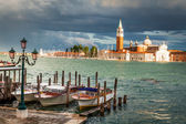 Church of San Giorgio Maggiore in Venice — Stock Photo
