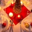 Stock Photo: Traditionally set table for Christmas Eve