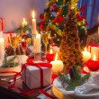 It is time for Christmas dinner — Foto Stock