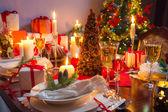 Noel masada boş yer — Stok fotoğraf