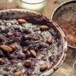 Stock Photo: Nuts as component of homemade chocolate