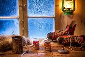 Té caliente elaborada en el viejo estilo — Foto de Stock