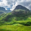 Stock Photo: Green highlands in summer Scotland