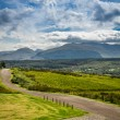 Beautiful views of the Scottish highlands in summer — Stock Photo #38591433