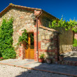 Stock Photo: Summer cottage agriturismo in Tuscany, Italy
