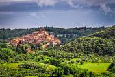 Küçük antik kenti, Toskana, İtalya — Stok fotoğraf