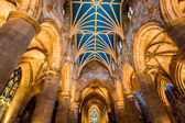 Interiors of Cathedral in Edinburgh — Stock Photo