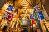 Beautiful interior of the Cathedral in Edinburgh — Stock Photo