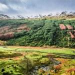 Autumn valley in the mountains, Scotland — Stock Photo #41420537