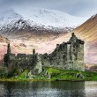 Kilchurn Castle in Winter — Stock Photo #41420887
