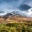 Beautiful view of the Glencoe in winter — Stock Photo #41421191