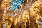 Archway in the Cathedral of Edinburgh — Stock Photo