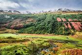 Autumn valley in the mountains, Scotland — Stock Photo