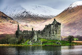 Kilchurn Castle in Winter — Stock Photo
