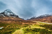 Beautiful view of the mountains in Scotland — ストック写真