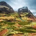 Beautiful autumn mountains in Scotland — Stock Photo