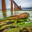 Stock Photo: Bridge Firth of Forth in autumn