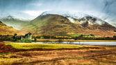 Winter landscape in Scotland — Stock Photo