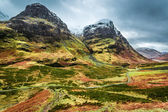 Beautiful autumn mountains in Scotland — Стоковое фото