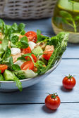 Healthy fresh spring salad — Stock Photo