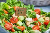 Closeup of fresh healthy salad — Stock Photo