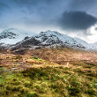 Beautiful view of the Glencoe in winter — Stock Photo #48010627