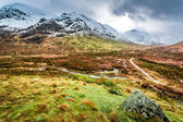Glencoe in Winter, Highland Scotland — Stock Photo