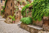 Ancient town in Tuscany — Stock Photo