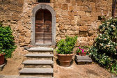 Old porch in Tuscany — Stock Photo