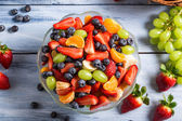 Enjoy your fruit salad — Stock Photo