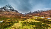 Beautiful view of the mountains in Scotland — Stock Photo