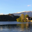 Stock Photo: View on the lake of Bled, Slovenia