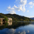 Bled and its hotels - Stock Photo