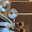 Stock Photo: Golden oldtimer grill