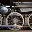 Steam locomotive detail - Stock Photo