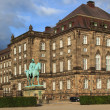 Right wing of Christiansborg — Stock Photo #13528597