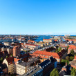 Copenhagen from above — Stockfoto