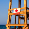 Empty lifeguard seat — Stock Photo #13528773