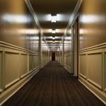 Hotel corridor — Stock Photo #13529631