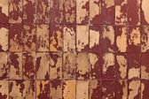 Shabby tiles — Stock Photo